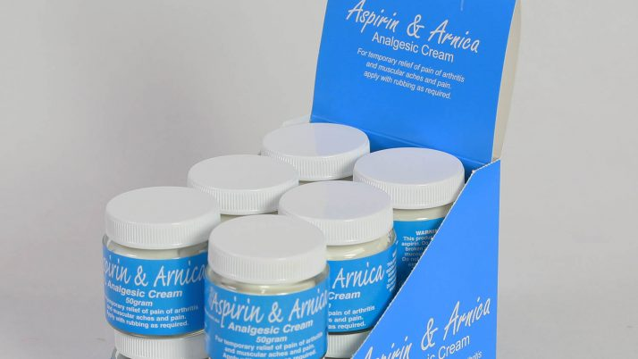12 Jars | Aspirin & Arnica Cream
