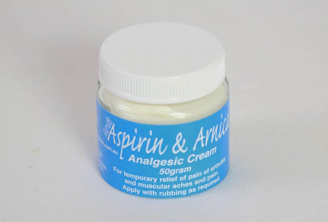 Single Jar | Aspirin & Arnica Cream