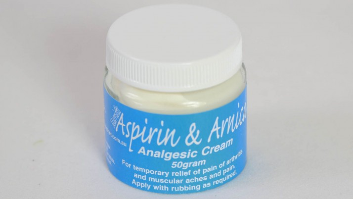Single Jar | Aspirin & Arnica Cream